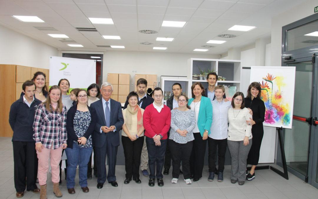 La AIBG firma un convenio con la Fundación Down Madrid para poner en marcha Bocados De Arte