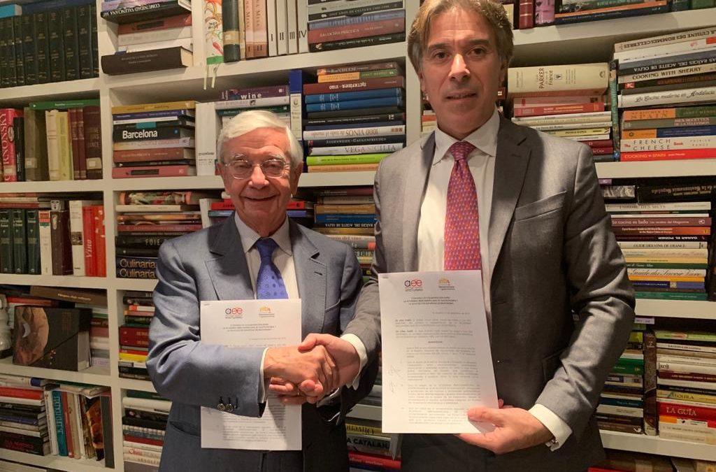 Para crear la Organización Iberoamericana del Enoturismo, la AIBG firma convenio con la Asociación Española de Enoturismo