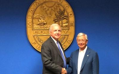 Acuerdo entre Miami-Dade County y la AIBG