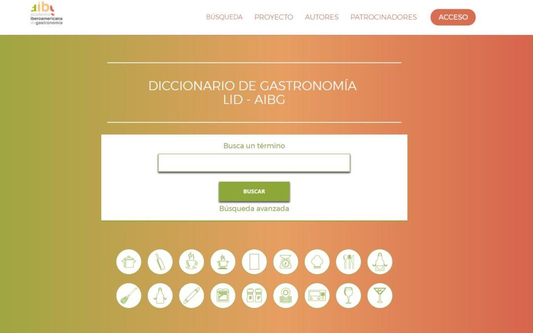 LID Editorial y la AIBG preparan el primer diccionario de términos gastronómicos iberoamericanos