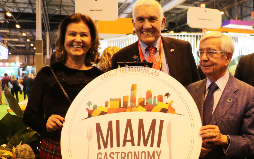 Traspaso de Capitalidad Iberoamericana de la Cultura Gastronómica de São Paulo a Miami