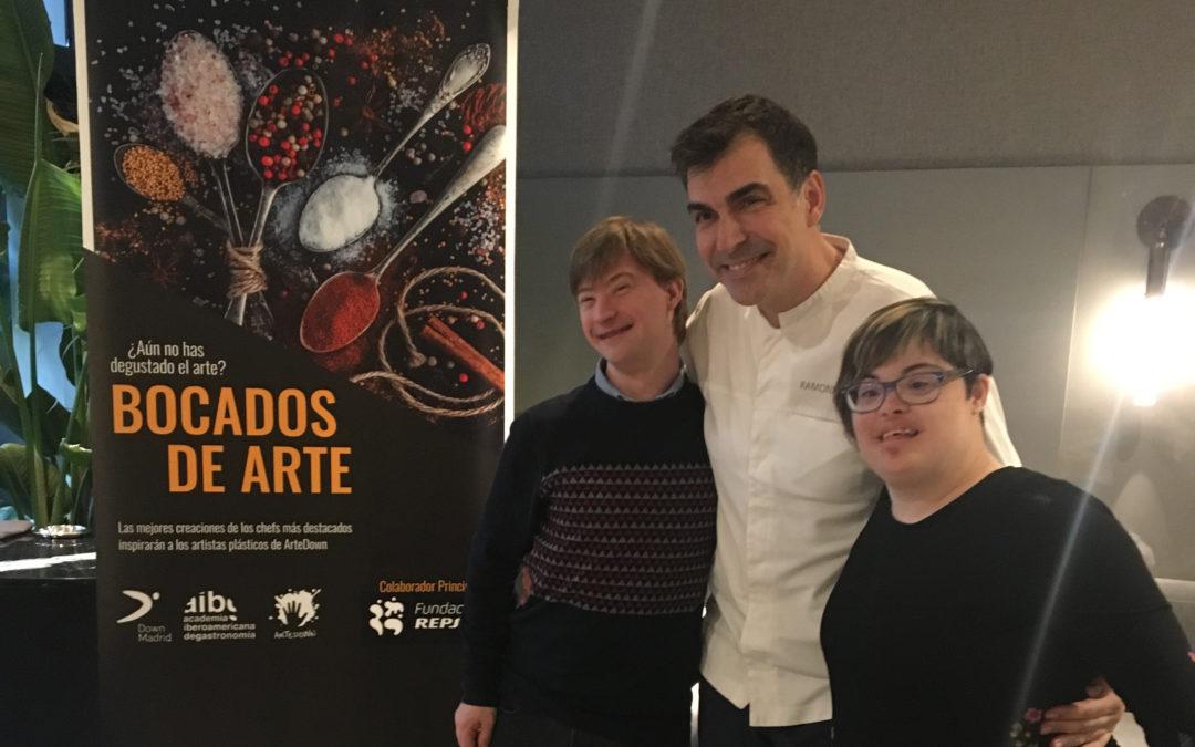 Tercer encuentro de genios 'Bocados de Arte' con Ramón Freixa