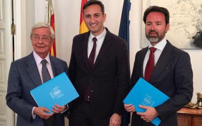 La Academia de Gastronomía del Mediterráneo  y la AIBG firman acuerdo de colaboración