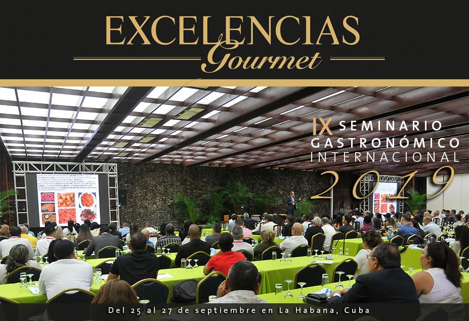 Se celebrará el IX Seminario Gastronómico Internacional Excelencias Gourmet