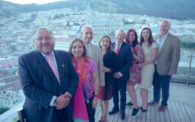 Presentación de la Academia de Gastronomía de Ecuador al Ministerio de Turismo