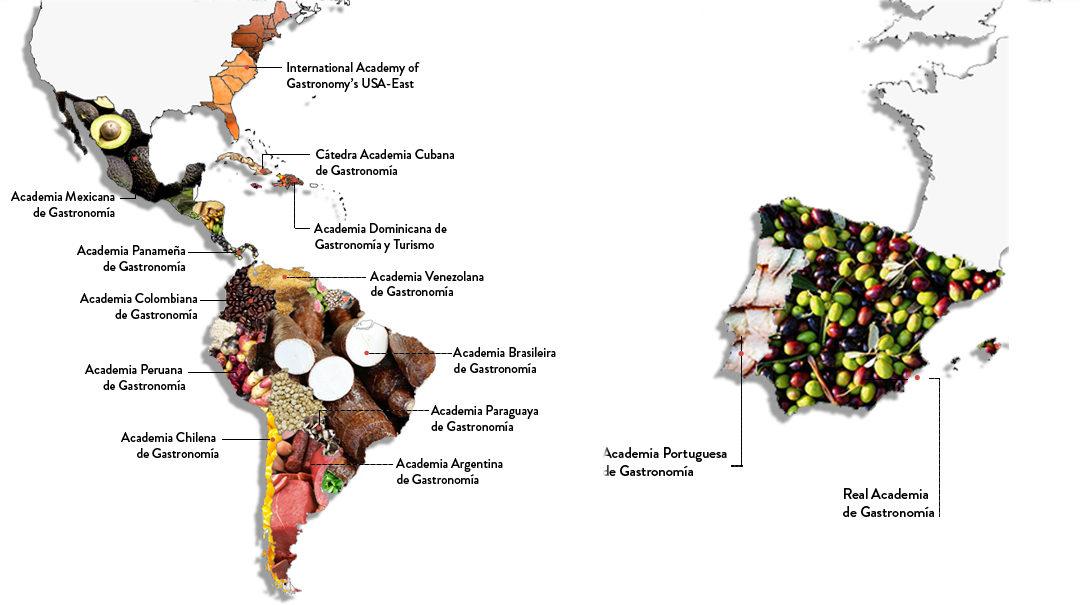 Las Academias Nacionales de Gastronomía ante el COVID-19