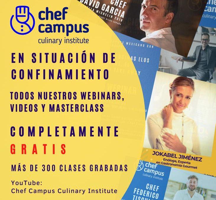 Chef Campus y la AIBG ponen en marcha un Aula Extracurricular