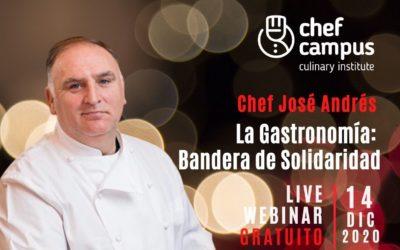 José Andrés ofrecerá un live webinar gratuito
