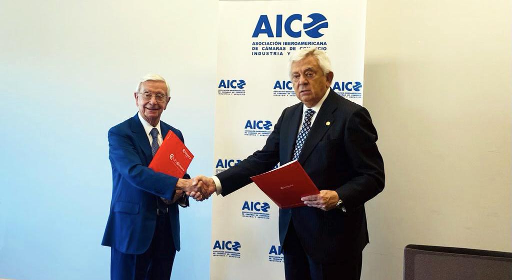 La Asociación Iberoamericana de Cámaras de Comercio suscribe acuerdo de colaboración con la AIBG