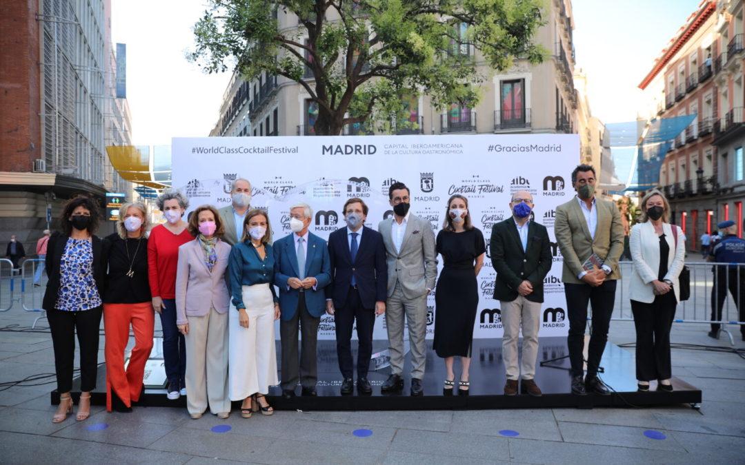 Madrid estrena tótem en la Plaza del Callao